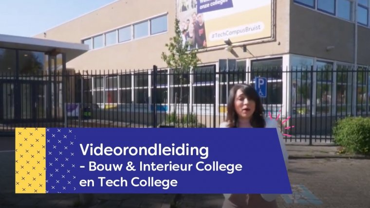 YouTube video - Rondleiding Tech College Nieuwegein