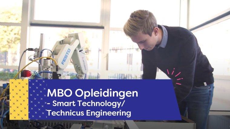 YouTube video - Student over de opleiding Smart Technology/Technicus Engineering