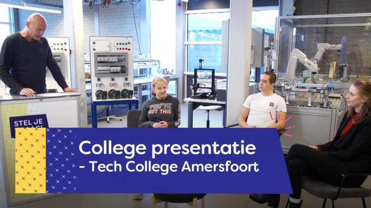 YouTube video - Tech College | Amersfoort
