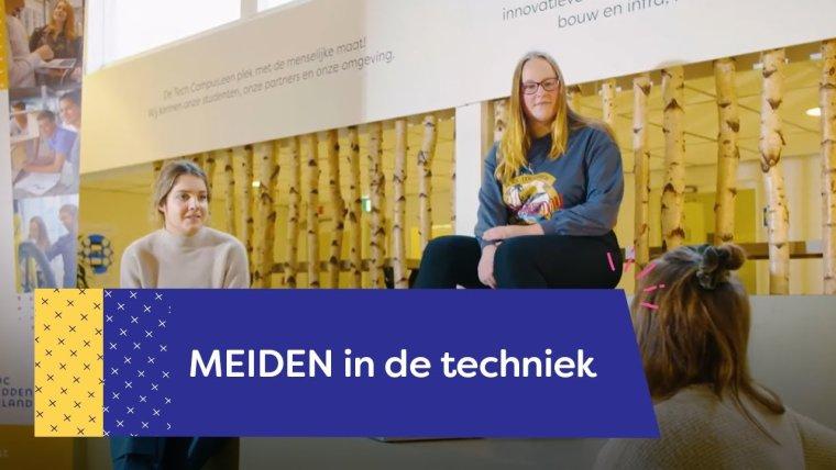 YouTube video - Meiden op de Tech Campus
