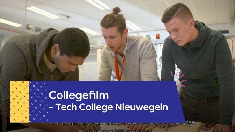 YouTube video - Maak kennis met het Tech College in Nieuwegein