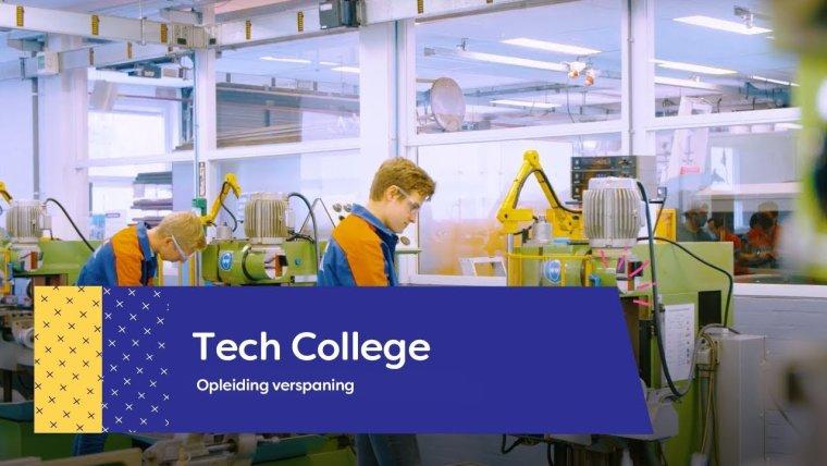 YouTube video - Studenten over de opleiding Allround Verspanen op het Tech College in Nieuwegein