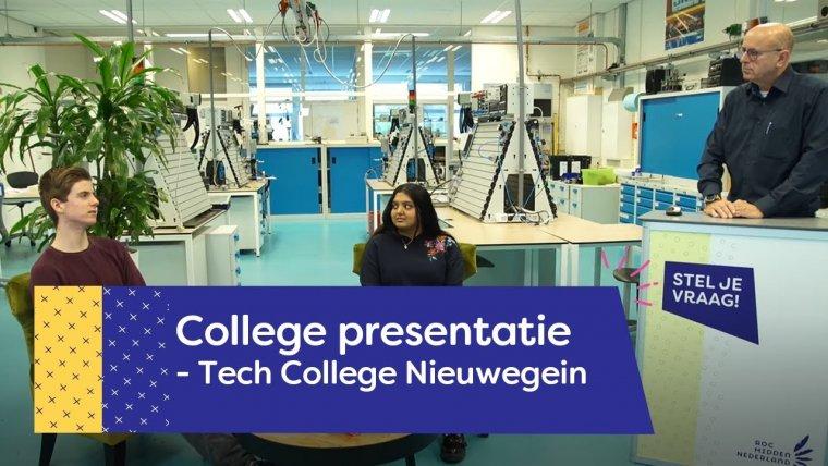 YouTube video - Tech College | Nieuwegein