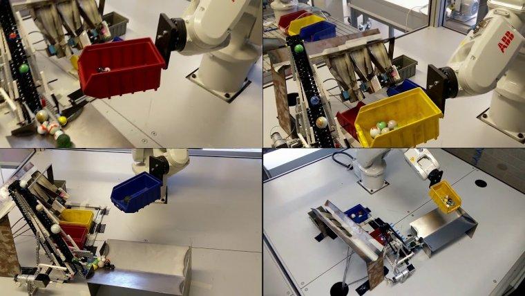 YouTube video - Project robotarm bij Mechatronica