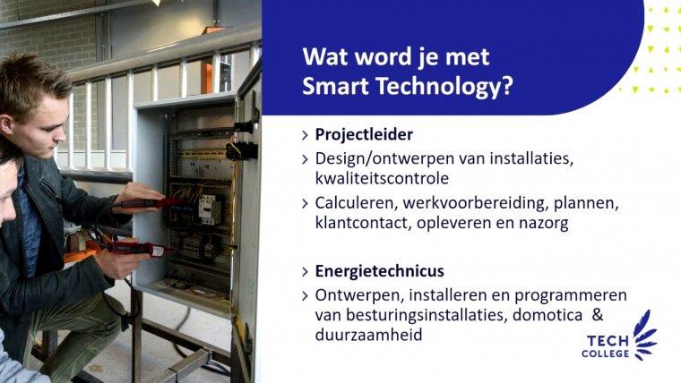 YouTube video - Online voorlichting Technicus Engineering/Smart Technology